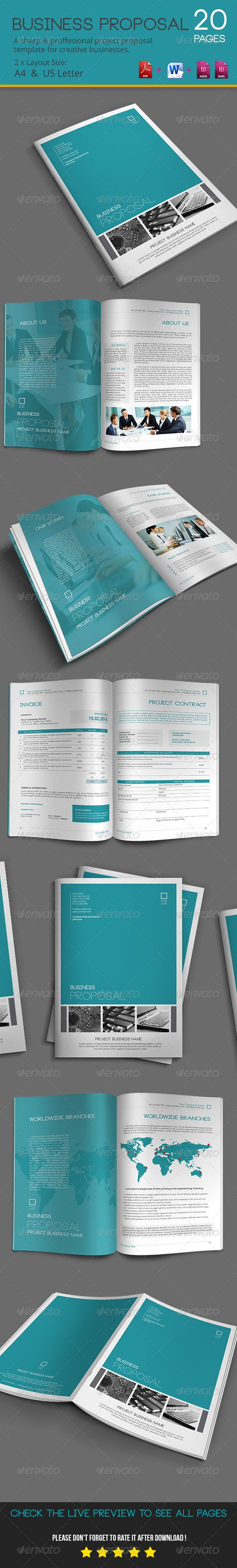 Business proposal business proposal proposals and proposal templates business proposal template indesign indd download here httpgraphicriver cheaphphosting Gallery