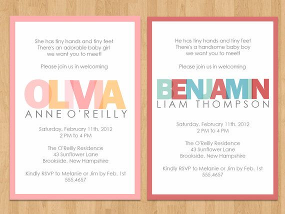 Meet baby/ open house invites Books! Pinterest Open house
