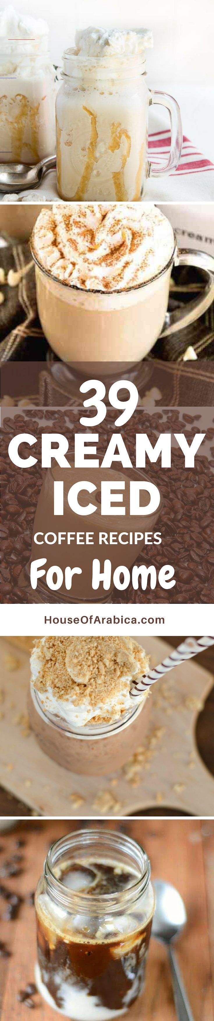 39 easy creamy iced coffee recipes for exciting summer