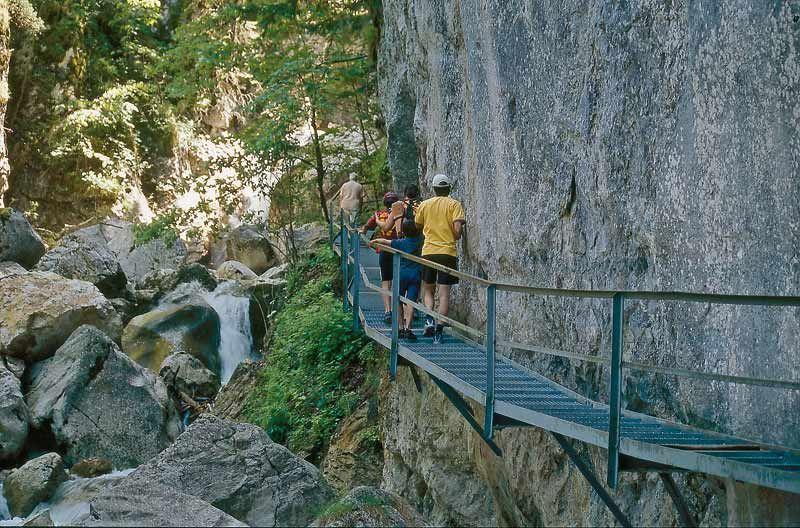 Poellatschlucht Alpsee Wandern Wandern Wanderwege See