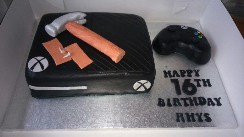Xbox One Cake Buddha Cakes Pinterest Xbox One Cake Cake And