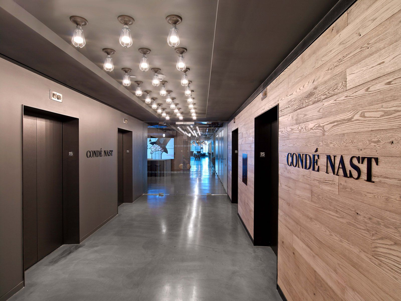 Condé Nast Entertainment Office By Tpg Architecture Office Building Lobby City Office Office Building