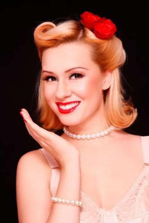 50's Hairstyles For Short Hair | http://www.short-hairstyles. - 50's Hairstyles For Short Hair Http://www.short-hairstyles.co