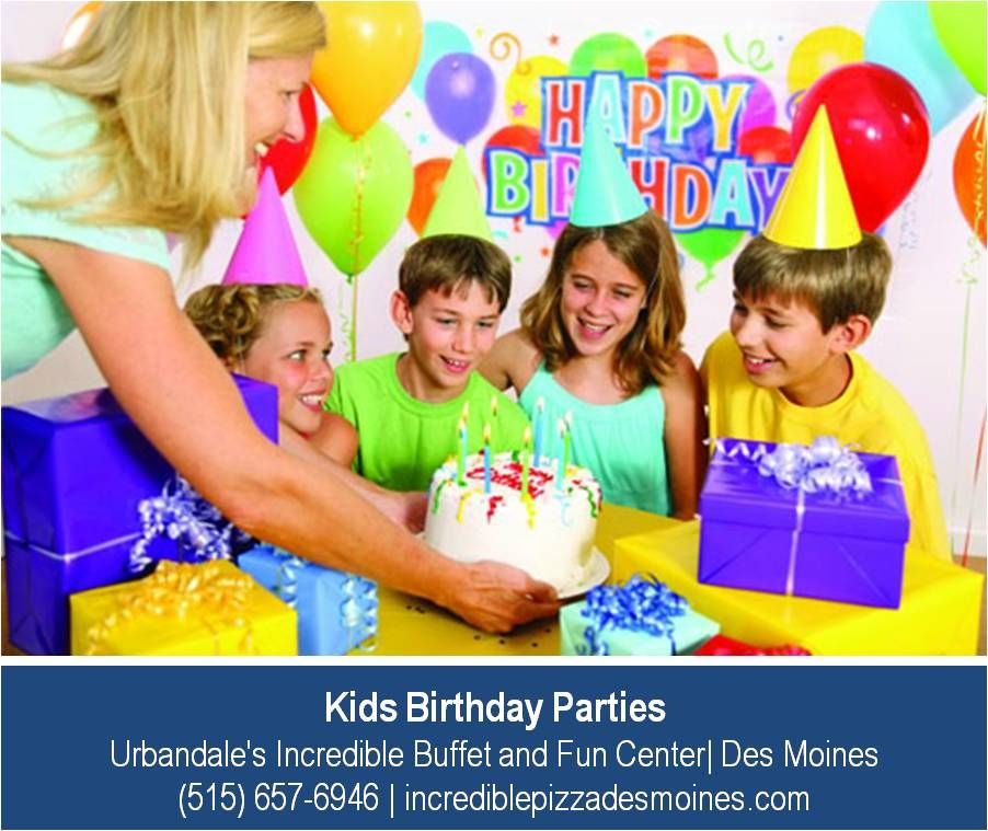 Kids Birthday Parties Can Be Tough There Seems To An Endless List Of Things Do At Urbandales Incredible Buffet And Fun Center In Des Moines