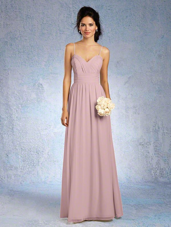 Shop Alfred Angelo Bridesmaid Dress - 7323 L in Chiffon at ...