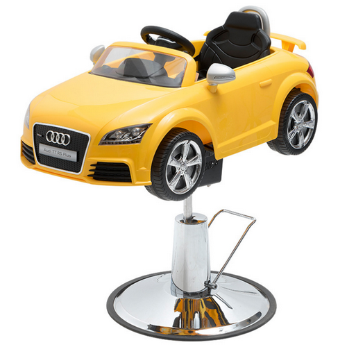 Kids Barber Car Hydraulic Baby Hairdressing Car Chair Beauty Salon