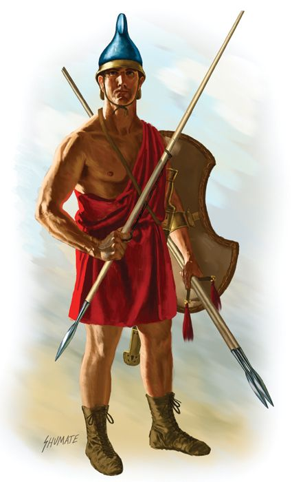 Agrianian Javelineer - Alexander of Macedonia employed these mountain warriors as his elite light troopers. Skilled in the art of javelin casting, they fought for Alexander from the beginning and to the end of his campaigns.