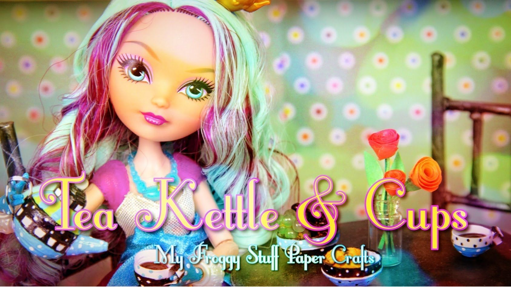 How to Make a Doll Tea Kettle & Cups   plus The Gabby Diaries   COPY