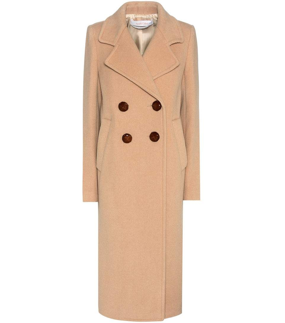 1754d61ce1975 SEE BY CHLOÉ Wool-Blend Coat. #seebychloé #cloth #coats | See By ...