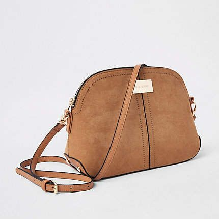 681735181 Light brown kettle cross body bag - Cross Body Bags - Bags & Purses ...