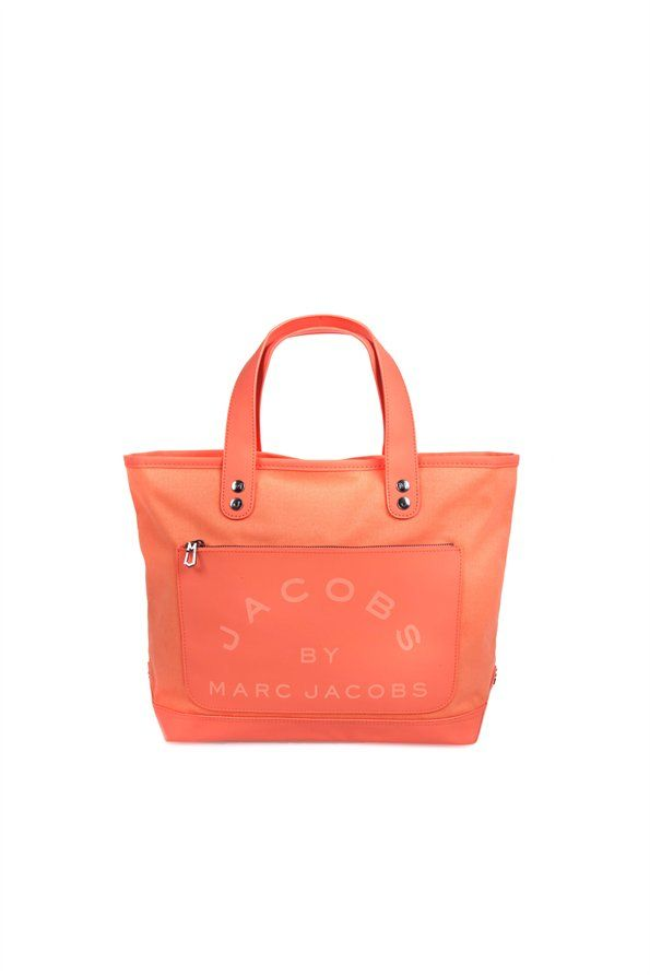 393ece9c560 Laminated Twill Jacobs Small Tote - Lookbooks - Special Items - Marc Jacobs
