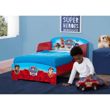 Nick Jr Paw Patrol Wood Toddler Bed Red Products In 2019