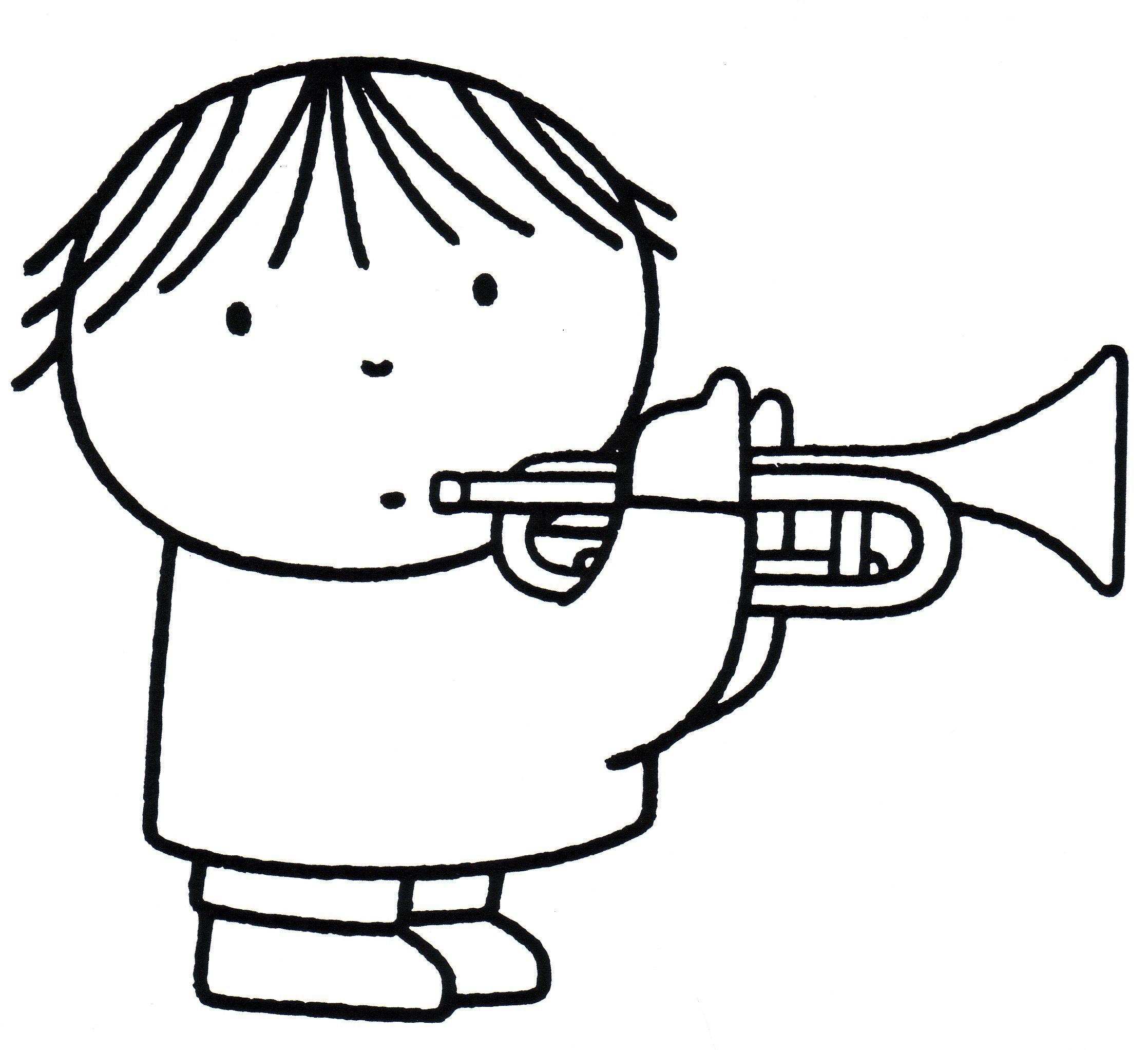 Gevonden Op Bing Via Nl Pinterest Com Muziek Trompet Muziek Muziek Tekeningen