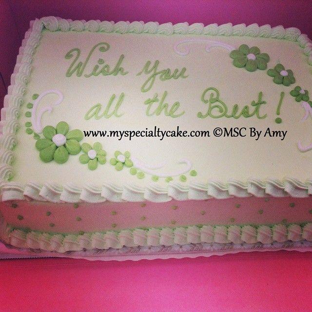 Msc S Good Luck Cake Cake Specialty Cakes Cake Trends