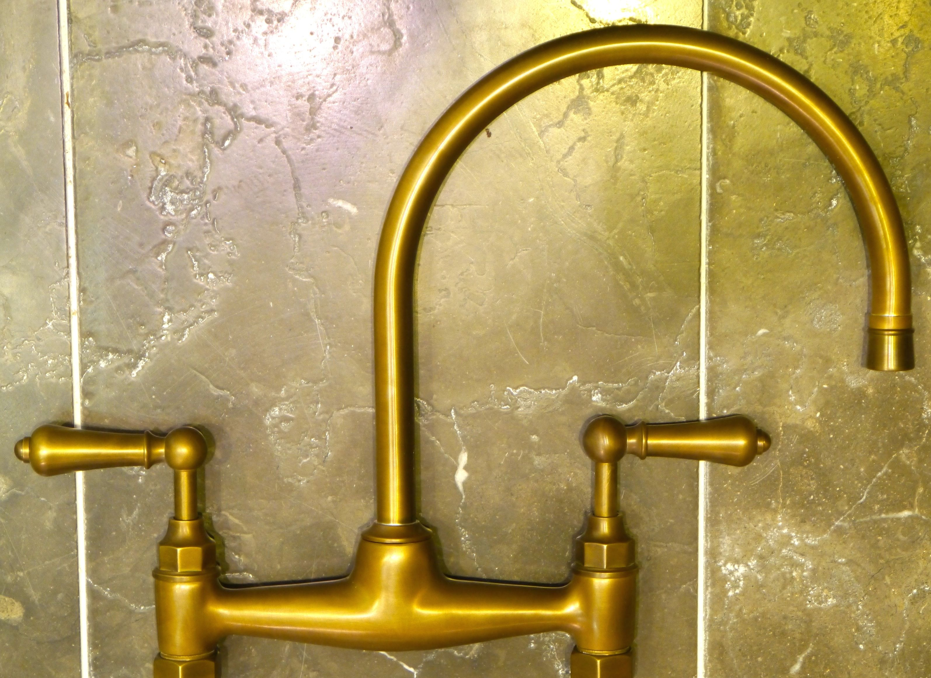 Weathered Brass, Brushed Brass, Antique Brass Bib Taps. Chadder ...