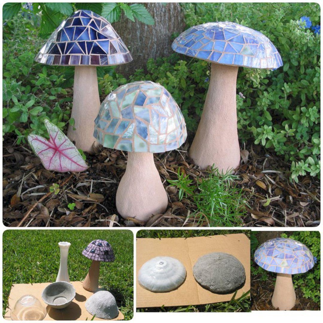 23 Diy Garden Mushrooms Design To Increase Your Backyard 400 x 300