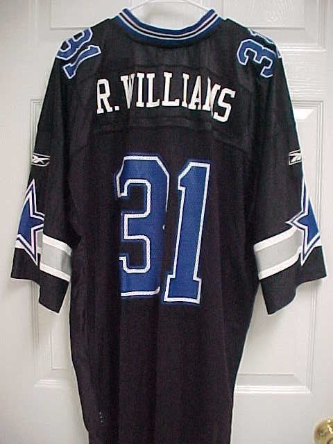 df6422d9e ROY WILLIAMS 31 Dallas Cowboys Nylon Black Mesh Football Jersey 2XL Reebok  New  Reebok  DallasCowboys