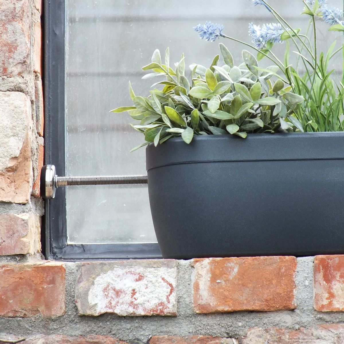 Balkonkästen Terracotta Rephorm Windowgreen Window Sill Flower Box Terracotta