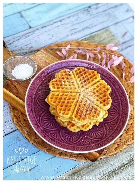 The ultimate waffle recipe l Crunchiest waffle recipe with milk girls