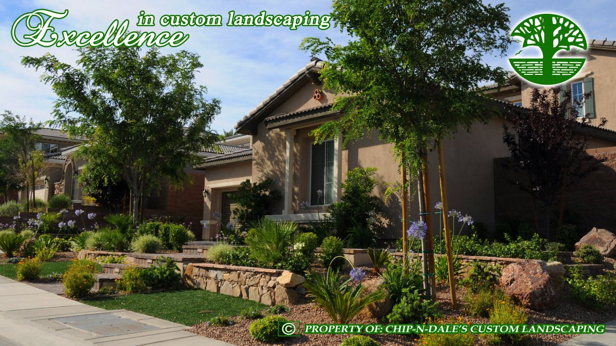 Synthetic turf landscape designs by Chip-N-Dale's Custom ...