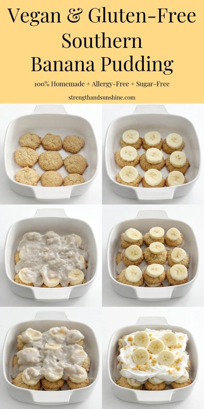 Southern Vegan Banana Pudding Gluten Free Allergy Free