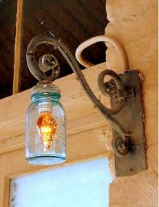 Pin By Dabs On Collective Mason Jar Ideas Mason Jar Lighting Jar Lights Blue Mason Jars