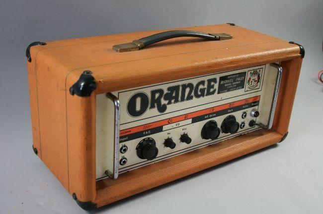 Orange Guitar Bass Amp Head OR50 iphone case