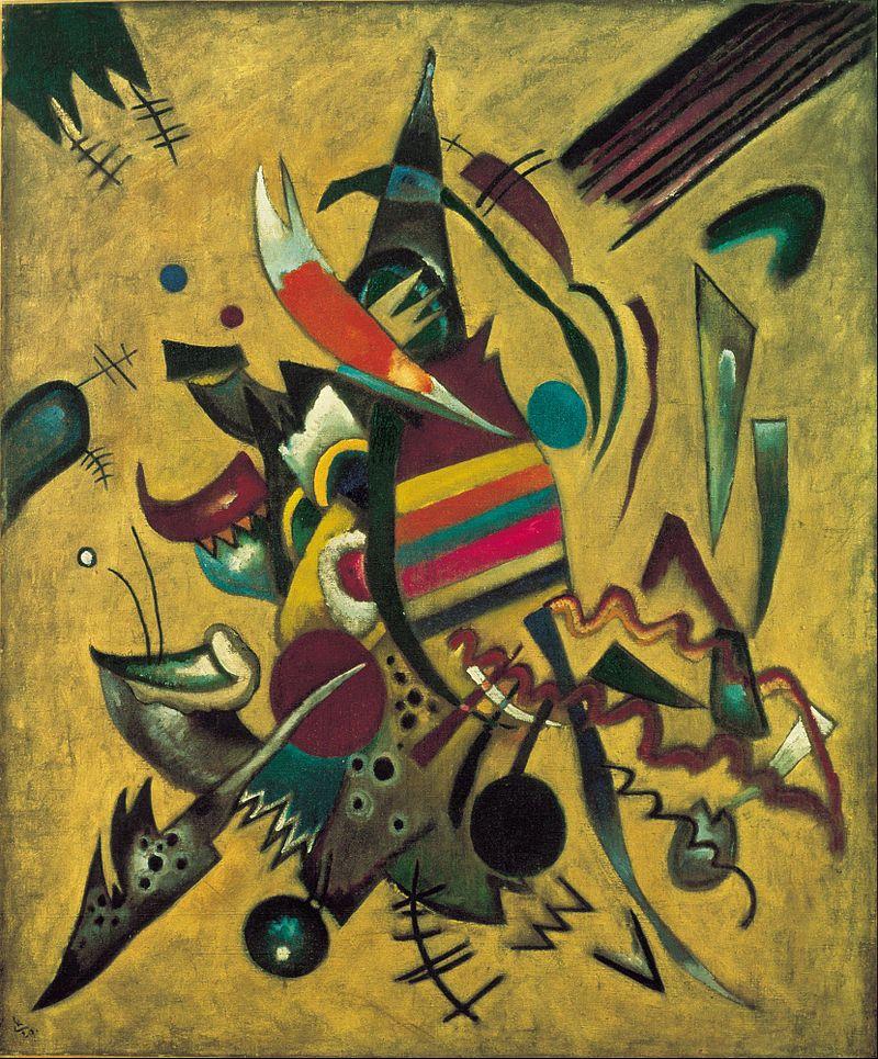 Wassily Kandinsky (Russian: 1866 - 1944) - Points (1920) - Ohara Museum of Art