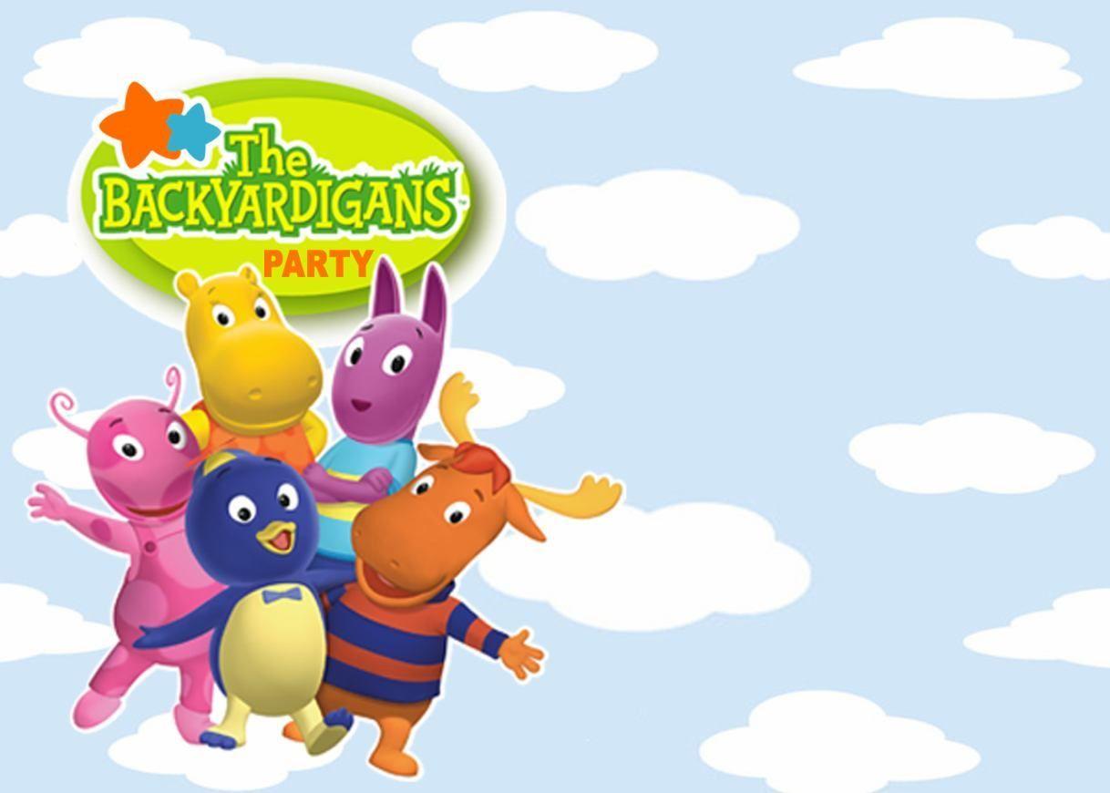 Fiesta Al Estilo The Backyardigans Fiesta Fiesta