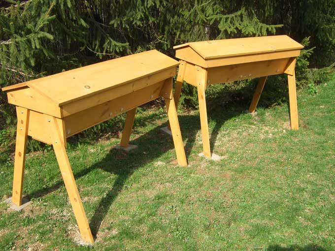 Beehive | Top Bar Beehives 300x225 Natural Beekeeping For The Home Gardener