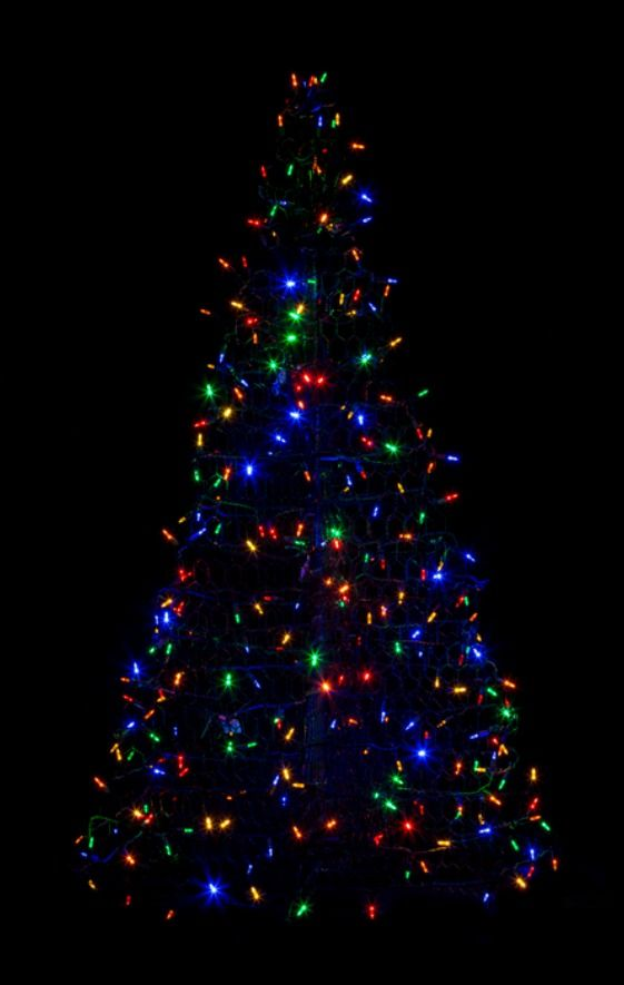 American Made Holiday Decorations Giveaway Win A Crab Pot Tree With Led Lights Potted Trees Outdoor Artificial Christmas Trees Potted Christmas Trees