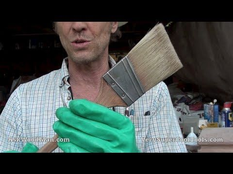 The Best Way To Clean A Paint Brush With The Least Amount Of Thinner Http Workshop Lifehacke Cleaning Paint Brushes Cleaning Oil Paint Brushes Paint Brushes