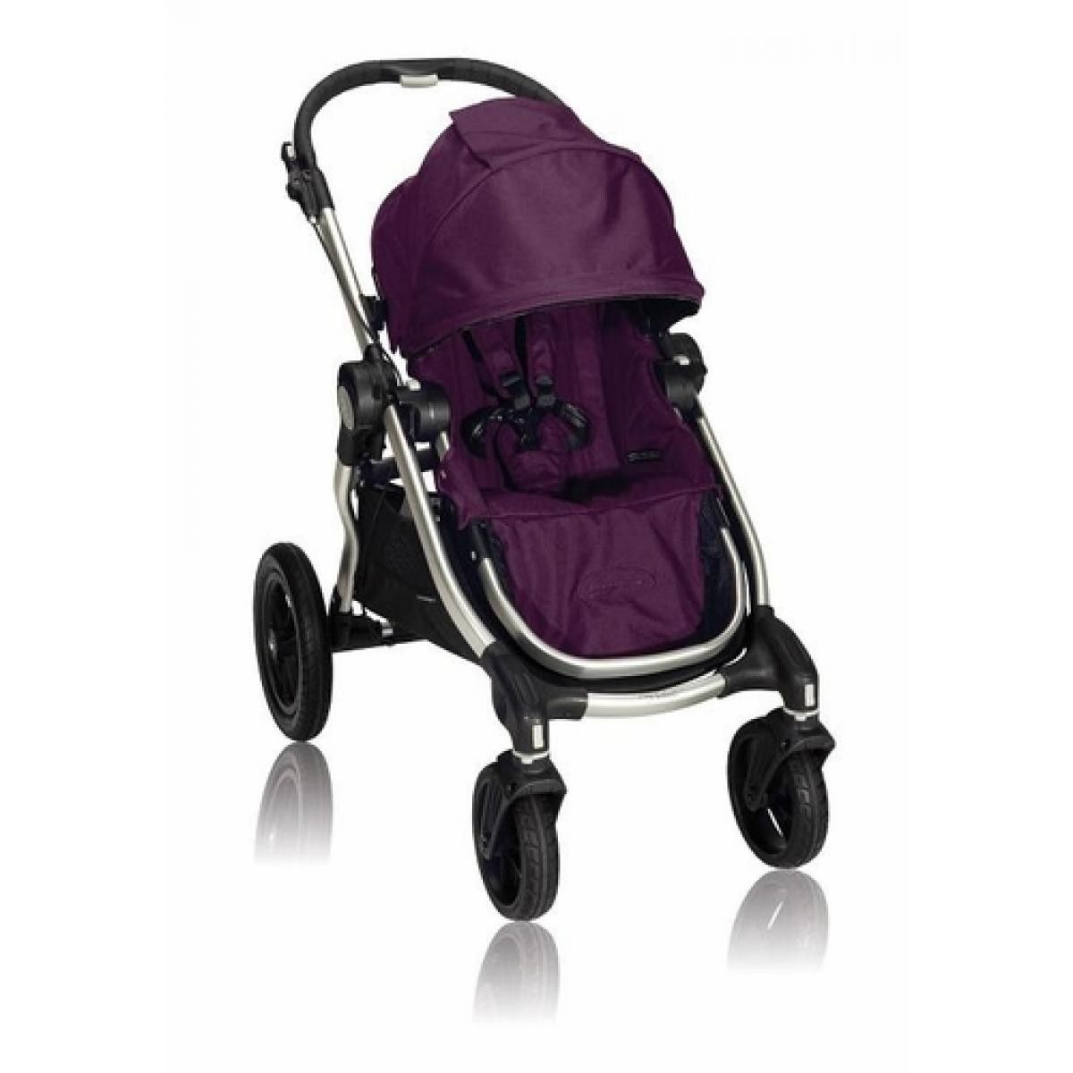 City Select Stroller Black with Baby jogger