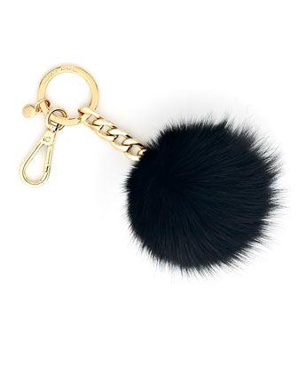 8c2aaac9a1318 MICHAEL Michael Kors Fur-Pom Keychain.