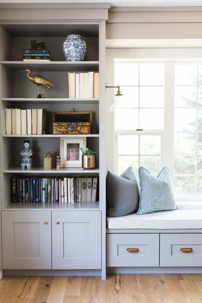 Alpine Modern Remodel – Entry, Living & Den | House of Jade Interiors