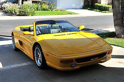 Fiero Ferrari Body Kit Replica Kit Car Ferrari F355 355 Spider Built On 1985 Pontiac Fiero Kit Cars Pontiac Fiero Replica Cars