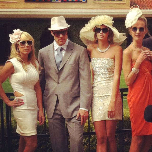 Spotted in the paddock: Del Mar race fans styled to perfection on ...