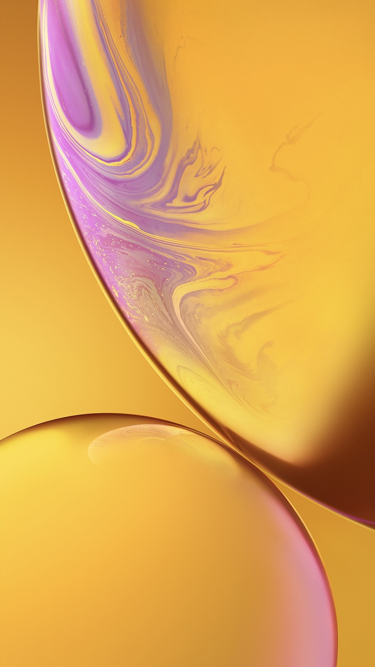 iPhone Xr wallpaper yellow