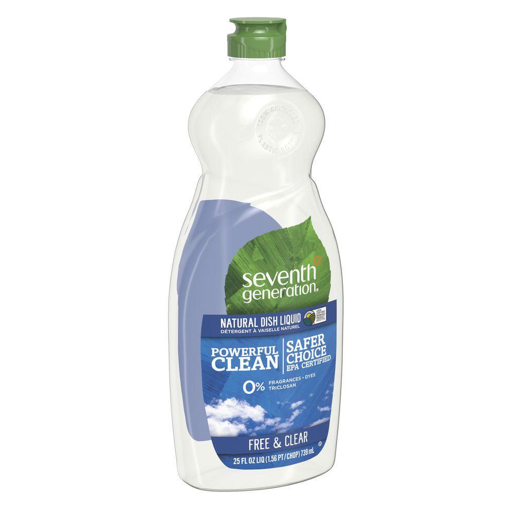 Seventh Generation Free Clear Liquid Hand Dish Soap 25oz