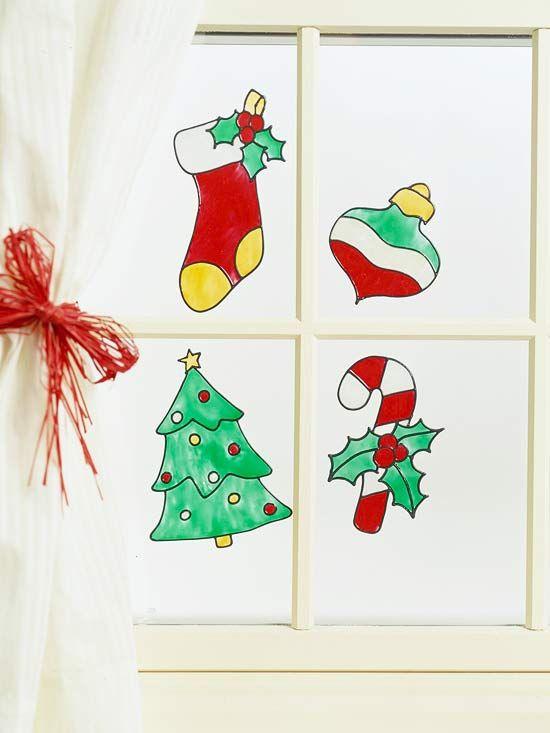 These spirited designs will brighten up your windows Window