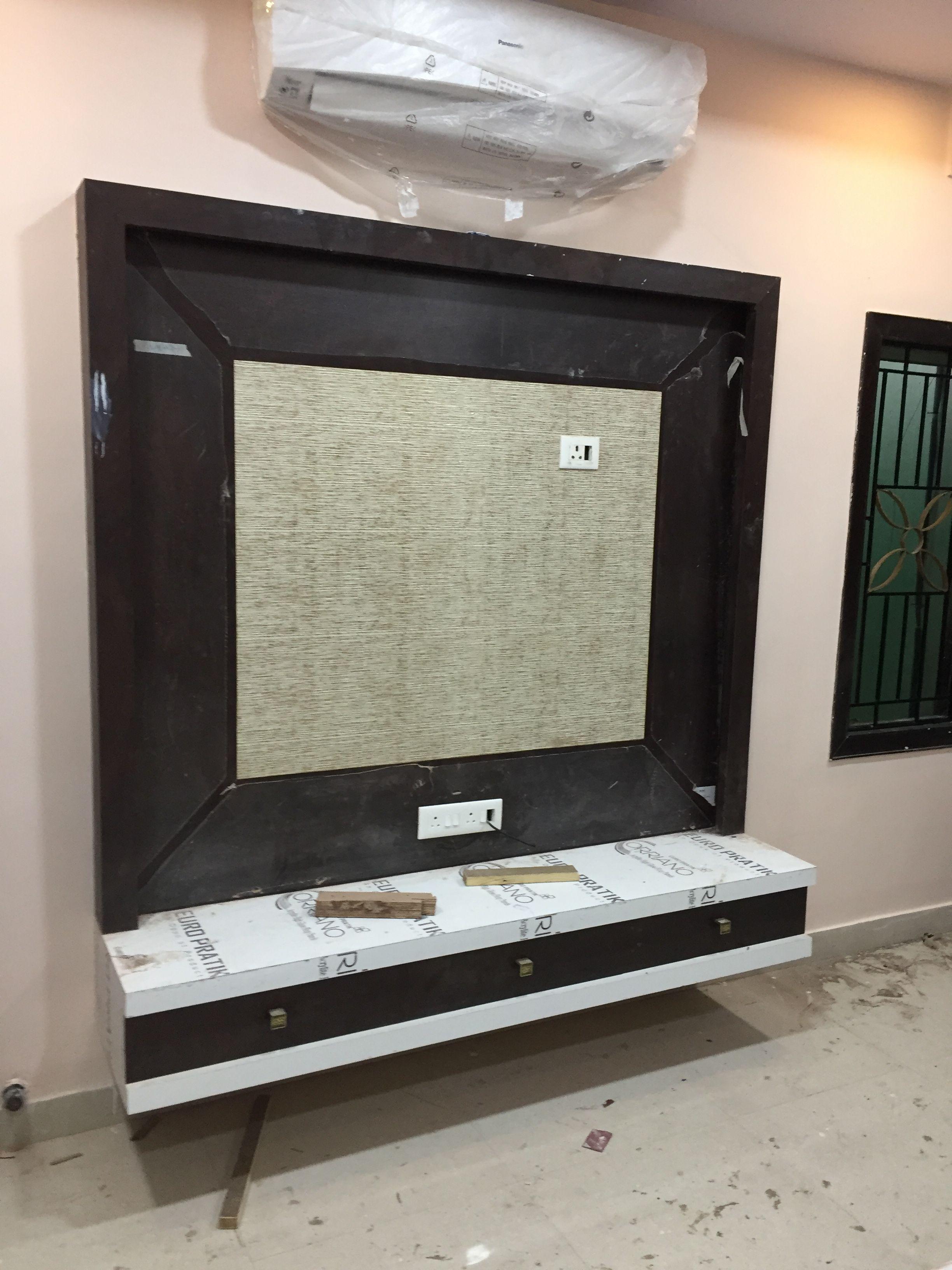Modern Living Room Lcd Tv Stand Wooden Design Fa18b: Pin By Vangari Vittal On T.V Units