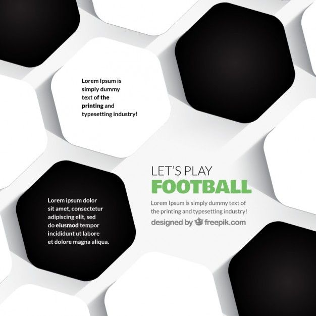 Download Abstract Football Background for free Football