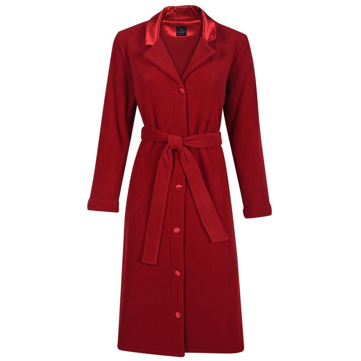 La Redoute Collections Robe De Chambre A Capuche En Polaire 3 12