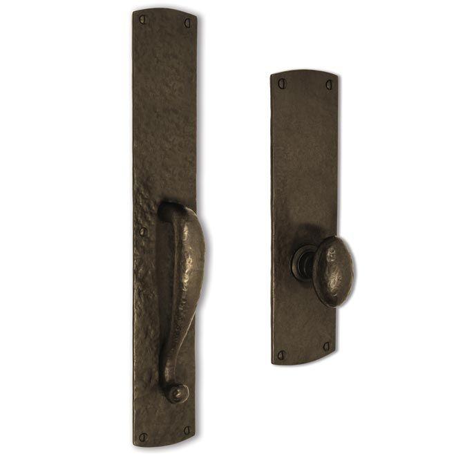 The Coastal Bronze 230 Series Solid Bronze Dummy Door Entry Set