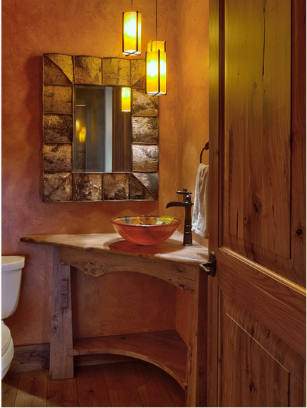 banheiro pequeno rustico  Buscar con Google  banheiro  Pinterest  Banheir # Banheiro Rustico Pequeno