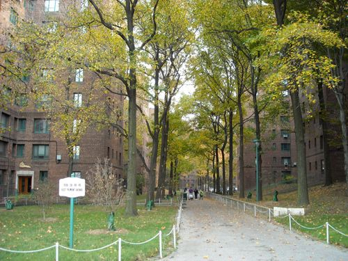 Lehman College Art Gallery Architecture Parkchester Apartment Ny