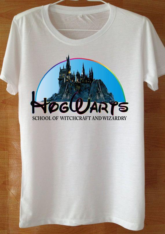 Hogwarts Magic Spell Harry Potter T Shirt Custom by wannasuk  e35083369