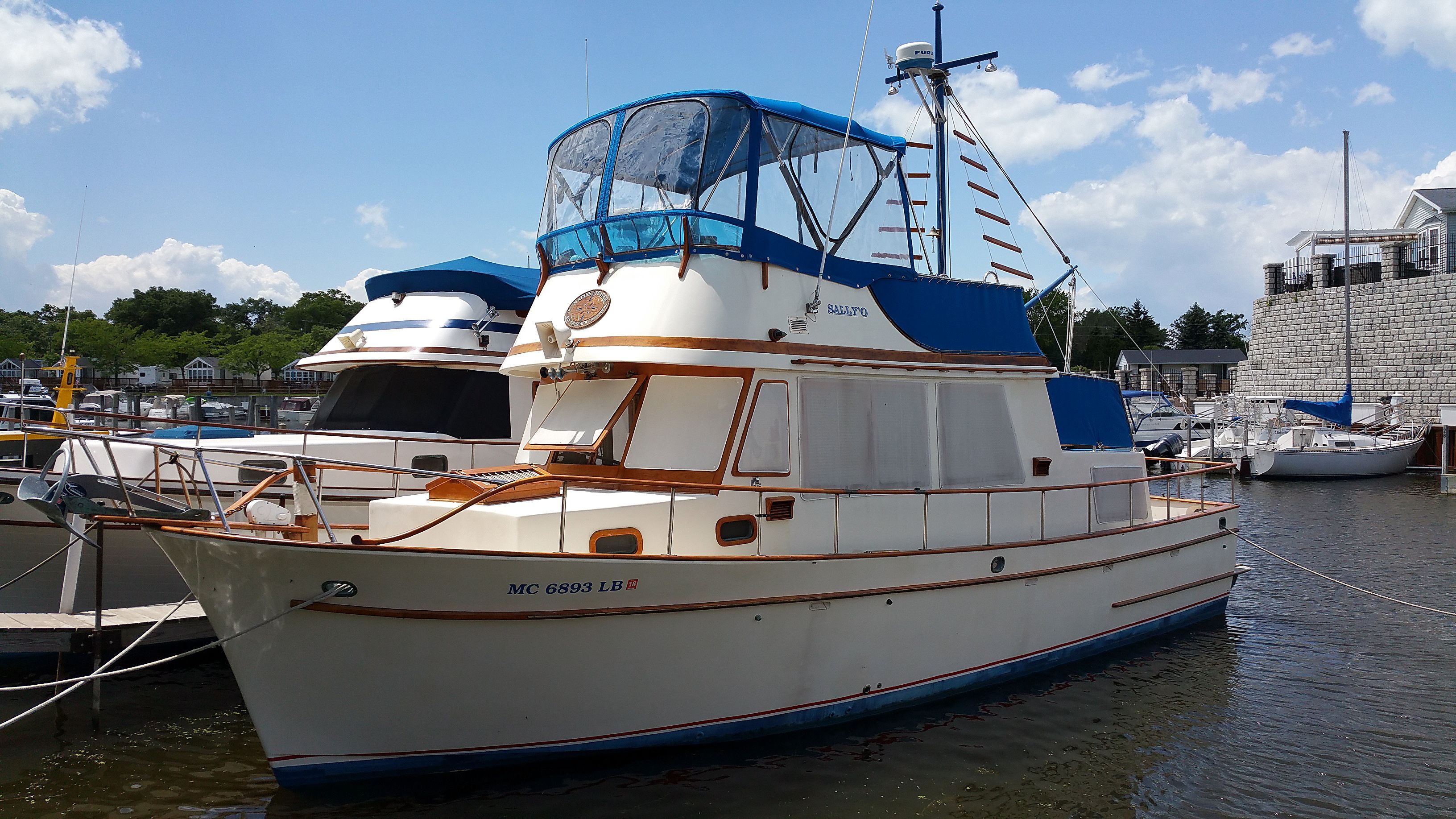 Trawler for sale Mariner 40