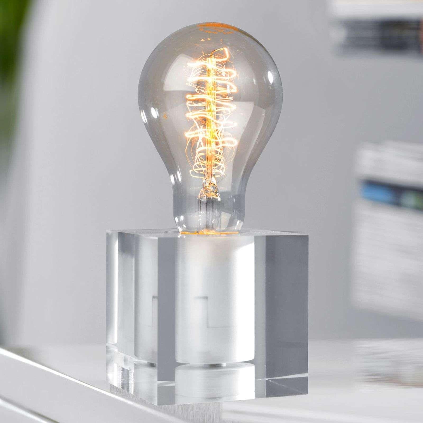 Tischleuchte Cubic Acryl En 2020 Lampe De Table Moderne Lampes De Table Lamp