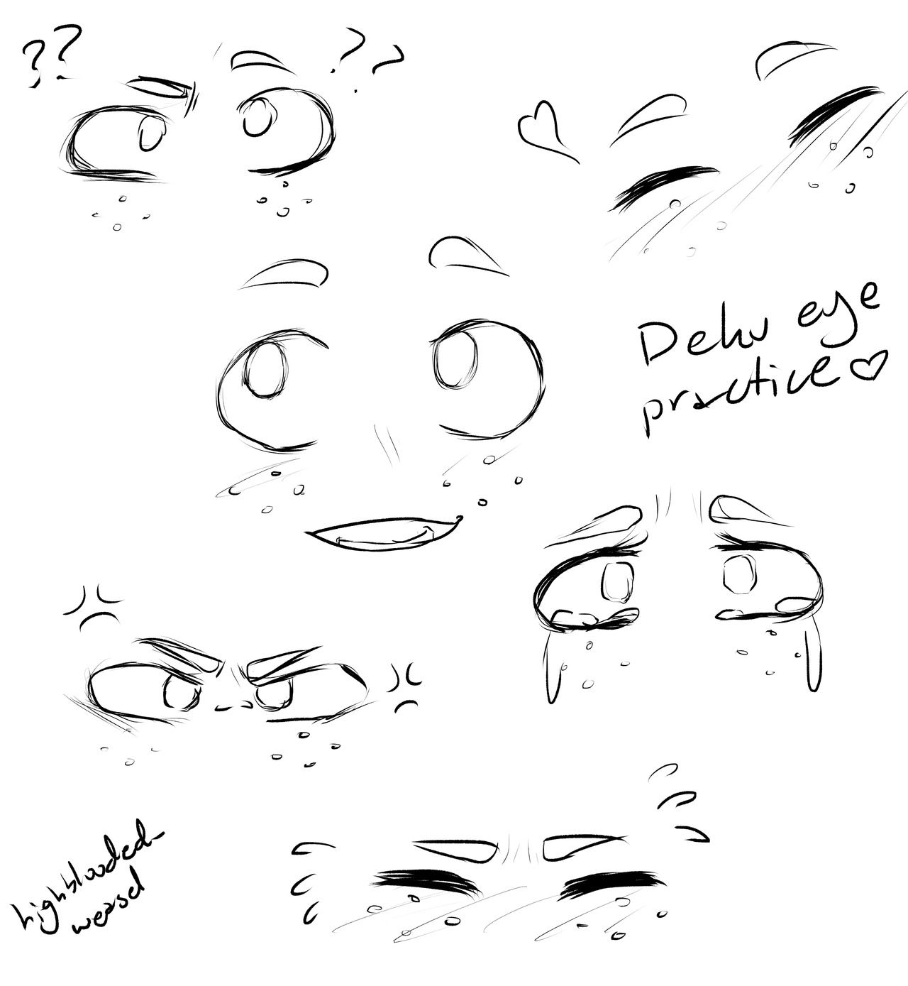 Deku Scrub I Love Drawing His Eyes So Much Oh My God Cartoon Eyes Drawing Eye Drawing Eye Drawing Tutorials
